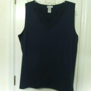 Catherine's navy blue camisole